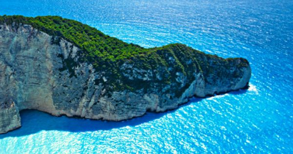 The Ocean Blue, Navagio Bay, Greece | The Best Travel Photos