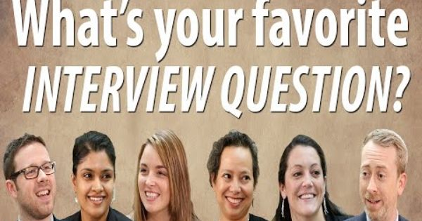 Ask The Recruiter What S Your Favorite Interview Question Interview Questions Best Interview Questions This Or That Questions