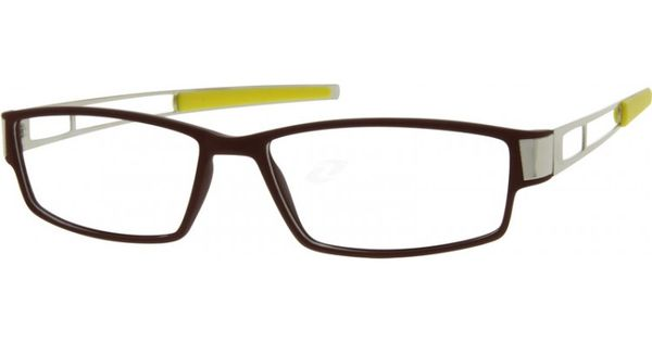 A plastic full-rim frame made of a very durable TR90 ...