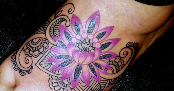 Feet Tattoo Designs (10)