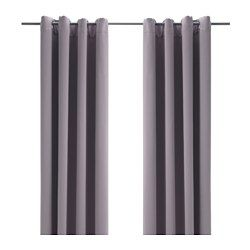 Bollolvon Block Out Curtains 1 Pair Ikea Blackout Curtains Curtains Block Out Curtains