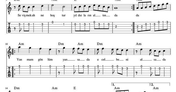 Elcin Adli Kullanicinin Notalar Panosundaki Pin 2020 Yildizlarin Altinda Notalara Dokulmus Muzik Muzik Notalari