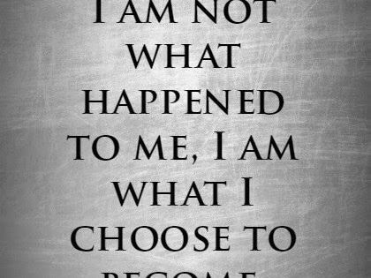 Quotes by Carl Jung   I am not what happened to me, I am ...