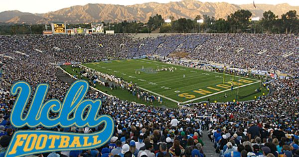 Ucla Football Rose Bowl Pasadena Ca Ucla Bruins Football Ucla Ucla Bruins