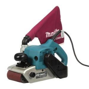 Makita 11 Amp 4 In X 24 In Corded Belt Sander With Abrasive Belt 80g Belt And Dust Bag 9403 In 2020 With Images Belt Sander Makita Belt