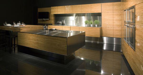 cuisine-bois-moderne-chaleureuse-design.jpg (1240×827) | deco ...