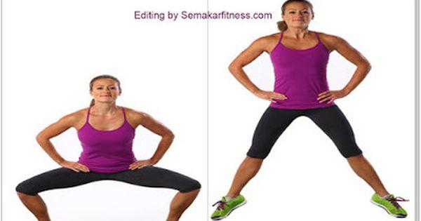 Cara Mengecilkan Paha Dan Betis Dalam Fitness Paha Kebugaran Latihan