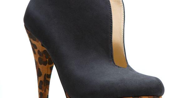 Cheeta booties