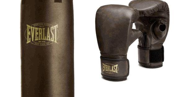 Shiv Naresh Teens Boxing Gloves 12oz: Vintage 1910 Heavy Bag Kit By Everlast