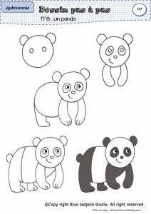 Dessinpasapas 2 Dessin Comment Dessiner Un Panda Et