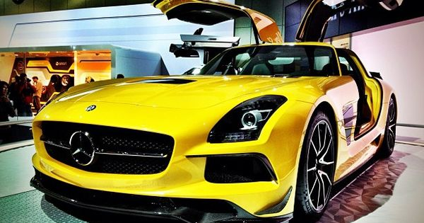 LA Auto Show Showstopper! The he new 2014 SLS AMG Black Series...