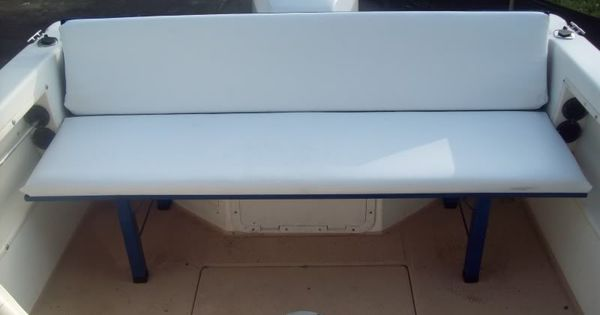 Diy Bench Seat Boat Restoration Inspiration Pinterest