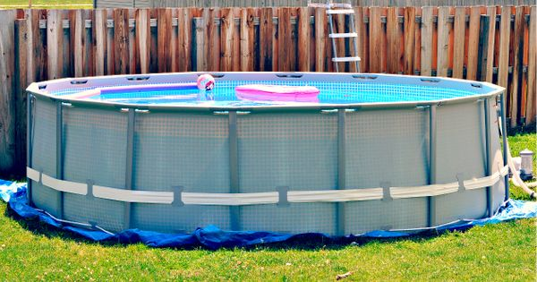 Intex 16 ft x 48 in ultra frame above ground pool set - Above ground swimming pool ratings ...
