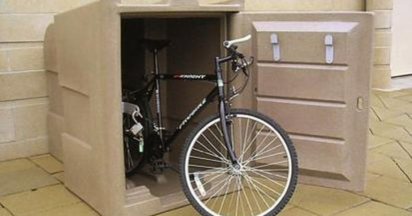 We All Have Seen Some Interesting Facts About Bikes There Are Many Benefits Of Locking Away Bikes In The Outdoor Bike Storage Bike Storage Cabinet Bike Storage