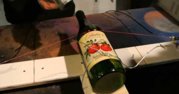 cutting glass bottles how to cut a wine bottle with