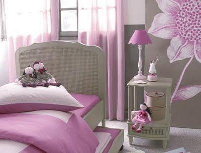 Decoracion dise o dormitorio recamara para mujeres en for Decoracion hogar gris