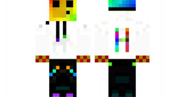 Minecraft Skin Rainbow Slime Minecraft Skins Pinterest