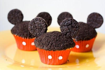 Mickey Cupcakes : 5 Mickey Mouse Cupcake Ideas | Cake Decoration Idea