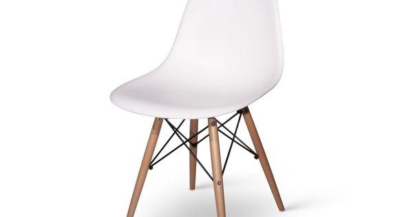 Chaise dsw blanc noir rouge bleu orange vert 475680 for Acheter chaise eames