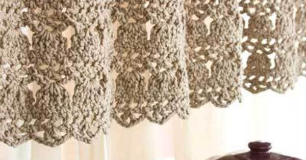 Crochet Patterns Valances : -Stitch Valance All Free Crochet And Knitting Patterns crochet ...