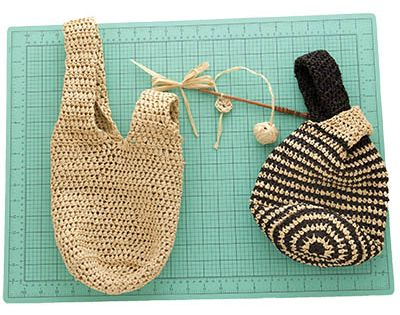Japanese Knot Bag Free Crochet Pattern Pattern