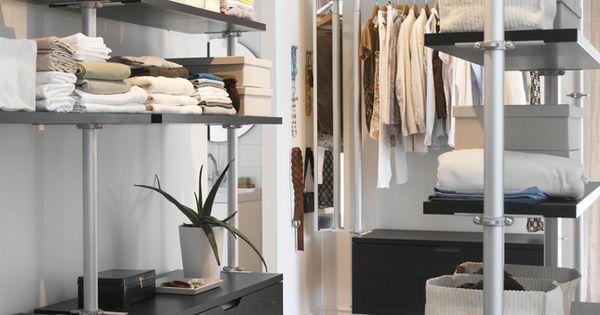 Ikea stolmen home ideas pinterest walk in robes and closet - Scaffali per cabine armadio ...