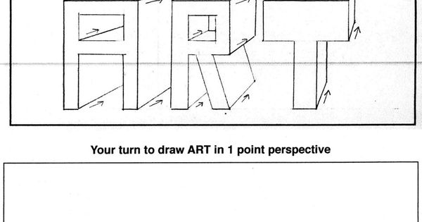 Great Resource For Teaching One Point Perspective