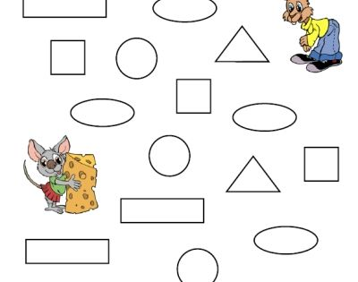 http://www.homeeducationresources.com/ printable shapes ...