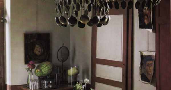 Spoon fork chandelier chandeliers and house for Spoon chandelier diy