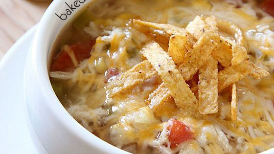 Slow Cooker Chicken Tortilla Soup  Recipe Ohana Tattoo Soups And