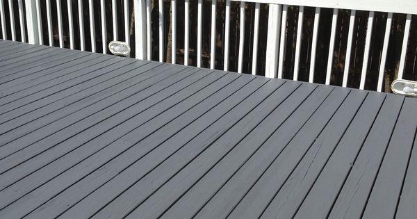 Benjamin Moore S Arborcoat Ashland Slate Floor Outdoor
