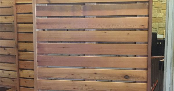 Portable wood partition maybe make with slat wall deck for Temporary wood wall