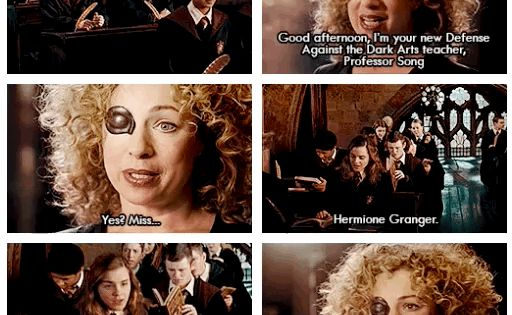 River Song The New Defense Against The Dark Arts Teacher Geek