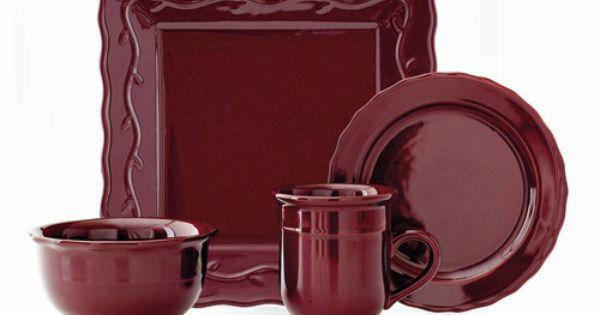 berry square dinnerware set set of 16 celebrating home products pinterest dinnerware. Black Bedroom Furniture Sets. Home Design Ideas