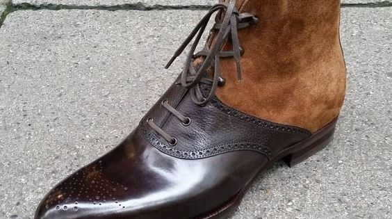 Pin by Jan Toorneman on Shoes | Handmade leather boots, Mens