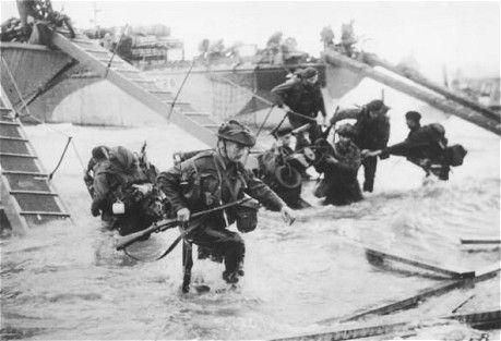 D Day June 6th 1944 As It Happened Debarquement En Normandie