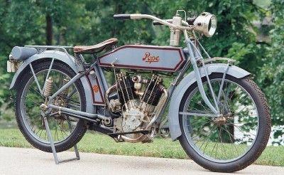 1918 Pope L 18 Oldtimer Motorrad