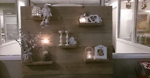 Wandbord van schoothout hallo xl voor sfeervol wonen pinterest xl meubels en decoratie - Tijdschrift interieur decoratie ...