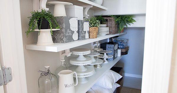 Diy Shelves And A Storage Closet Makeover Main Attraction Tutorials And Closet