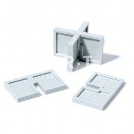 Carton De 400 Ecarteur 5mm Pour Dalle Beton 50x30x5mm Jouplast