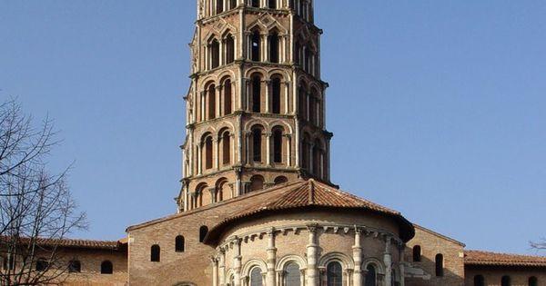 Romanesque architecture france chevet of st sernin - Chevet architectuur ...
