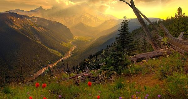 Best Nature Wallpapers Ever | Hilltop Mountain Skys ...