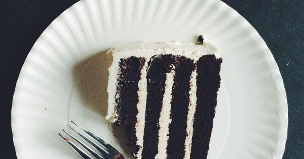 Cake + Italian Meringue Buttercream Icing (Gluten Free + Dairy Free ...