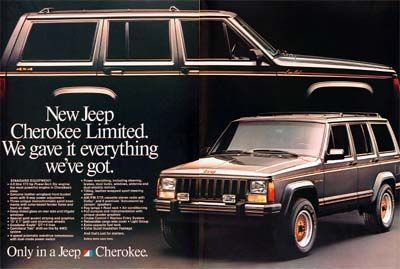 Xj Day Outtake Jeep Wagoneer Limited The Woody Cherokee Just