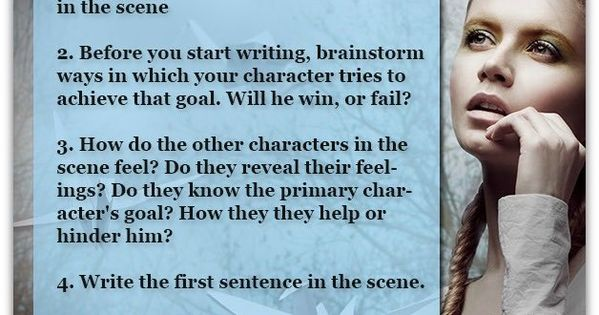 How to Write Scenes in Novels and Short Stories -- Writing a