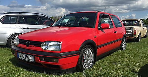 Ebay 1996 Volkswagen Mk3 2 0 Golf Gti 16v Anniversary Red Ajoneuvo