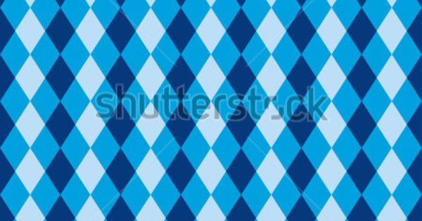 Seamless Blue Diamond Harlequin Background Pattern Texture