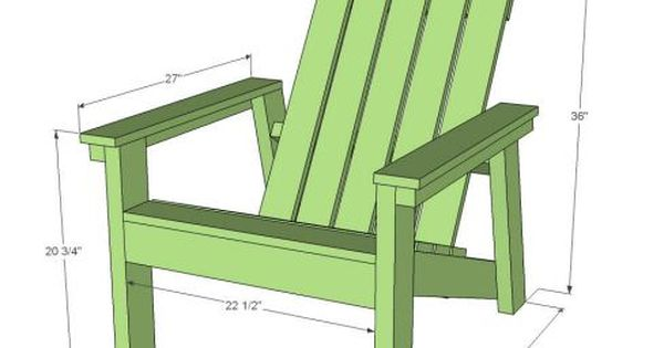 making your own adirondack chairs | How to Build Your Own Adirondack Chairs, with Ana White ...