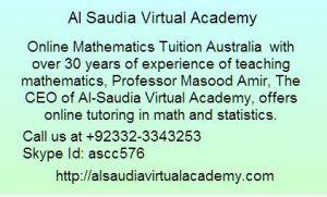 Mathematics Tutors Perth Brisbane Australia Virtual Academy