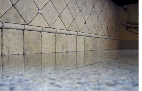 Tumbled Travertine Backsplash Ceramic Tile Advice Forums